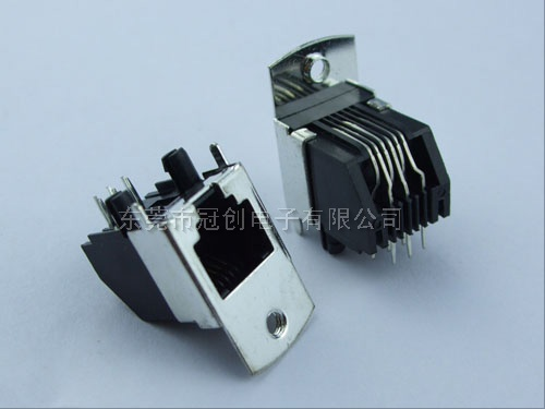 rj45插座|rj11母座|rj45网络插座|防水rj45连接器-冠